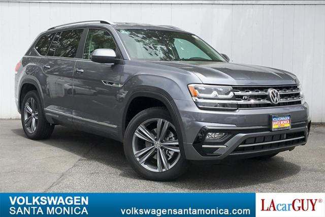 New 2019 Volkswagen Atlas 3.6L V6 SE w/Technology R-Line 4MOT