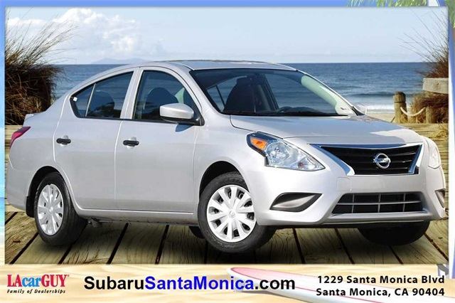 pre-owned 2017 nissan versa 1.6 s plus 4d sedan in santa monica