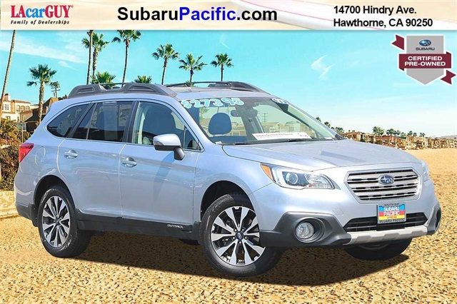 Subaru Certified Pre Owned >> Certified Pre Owned 2017 Subaru Outback 2 5i Awd