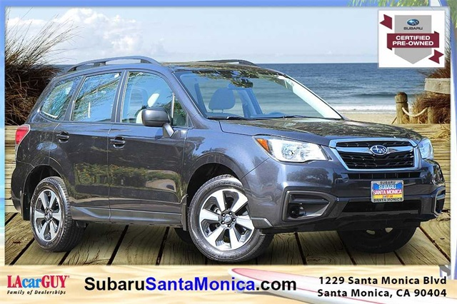 Subaru Certified Pre Owned >> Certified Pre Owned 2017 Subaru Forester 2 5i Awd