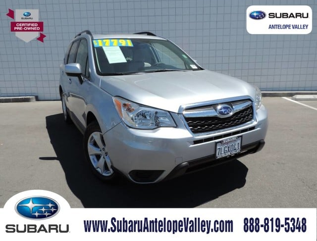 Certified Pre-Owned 2015 Subaru Forester 4dr CVT 2.5i Premium Pzev