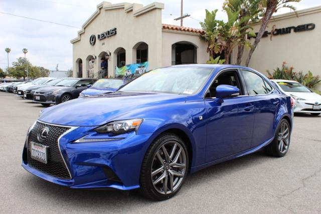 Certified Pre-Owned 2016 Lexus IS 200t F-SPORT