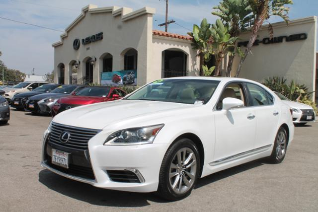 Certified Pre Owned 2014 Lexus LS 460 4dr Sdn RWD