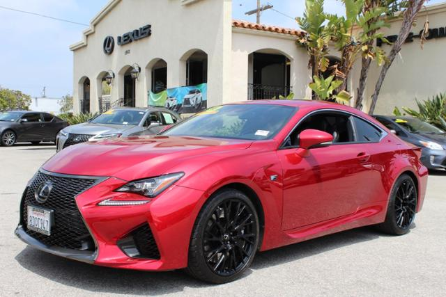 Certified Pre-Owned 2018 Lexus RC F RWD