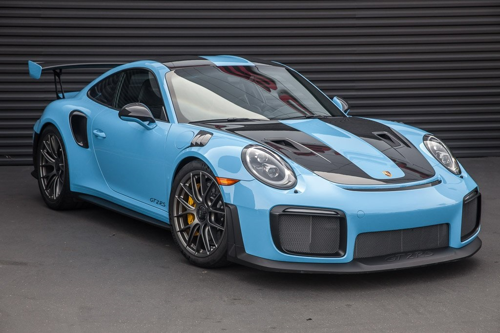 Certified Pre Owned 2018 Porsche 911 Gt2 Rs Rwd 2d Coupe
