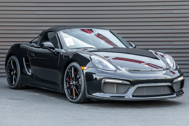 Certified Pre Owned 2016 Porsche Boxster Spyder 2d Convertible In
