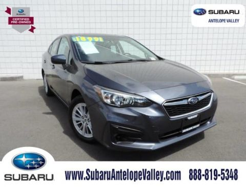Certified Pre-Owned 2017 Subaru Impreza 2.0i Premium 4-Door CVT