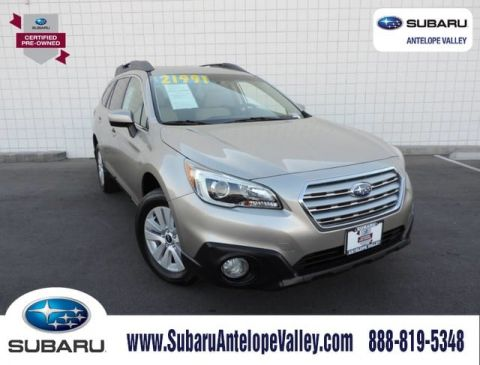 Certified Pre-Owned 2016 Subaru Outback 4dr Wgn 2.5i Premium Pzev
