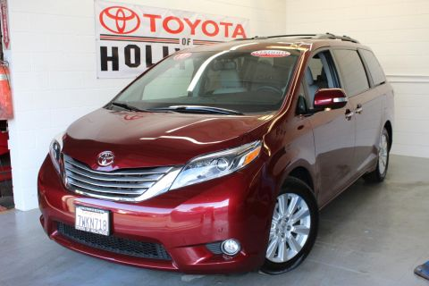 Certified Pre-Owned 2017 Toyota Sienna Limited Premium