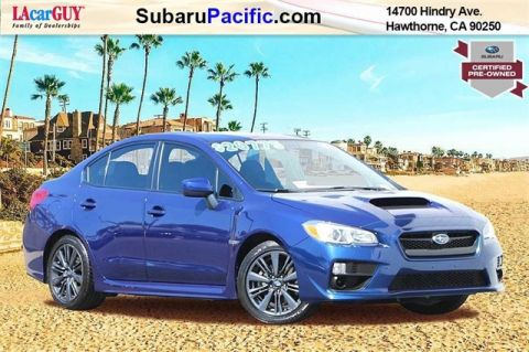 Certified Pre-Owned 2017 Subaru WRX Base