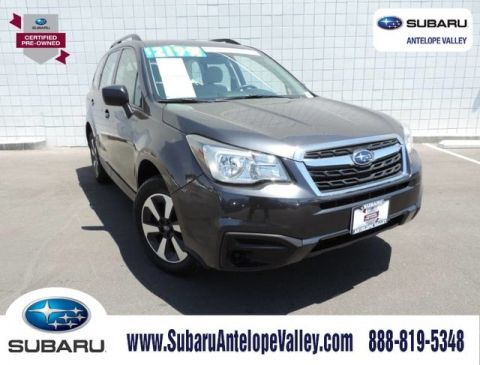 Certified Pre-Owned 2018 Subaru Forester 2.5i CVT