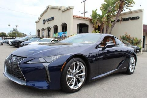 Certified Pre-Owned 2018 Lexus LC LC 500h RWD