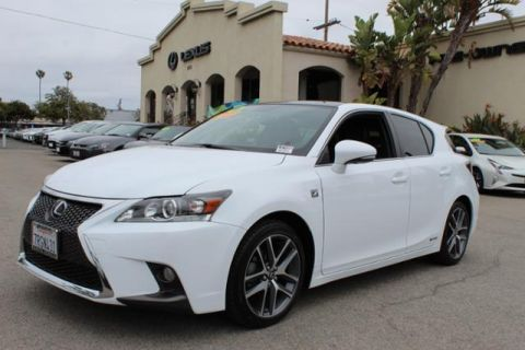 Certified Pre-Owned 2016 Lexus CT 200h 5dr Sdn Hybrid