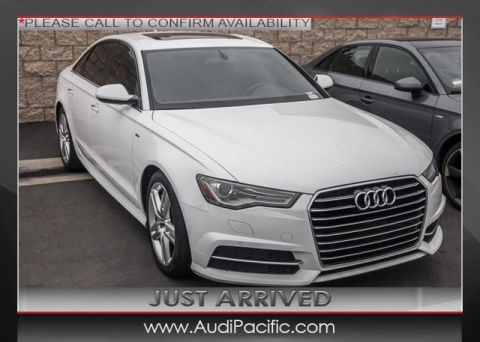 Certified Pre-Owned 2016 Audi A6 2.0T Premium Plus